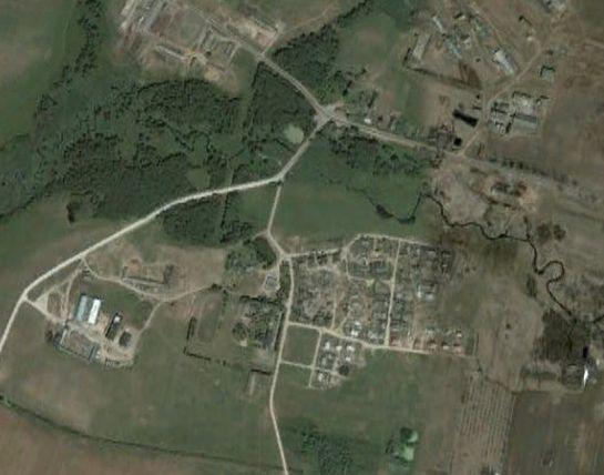 Фотография со спутника поселка Поплавцы.