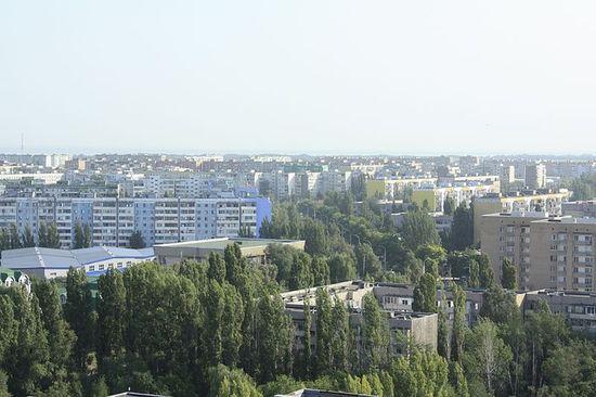 Жилые кварталы новой части города
