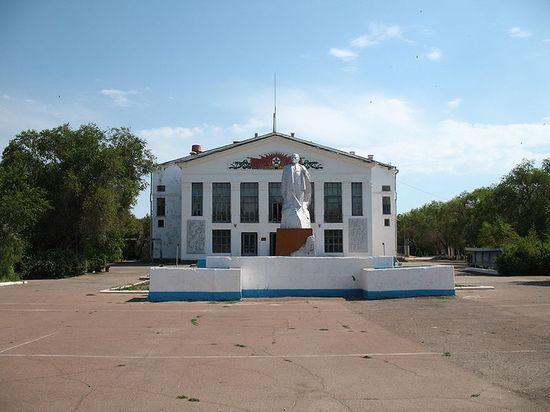 Центральная площадь в Приозёрске