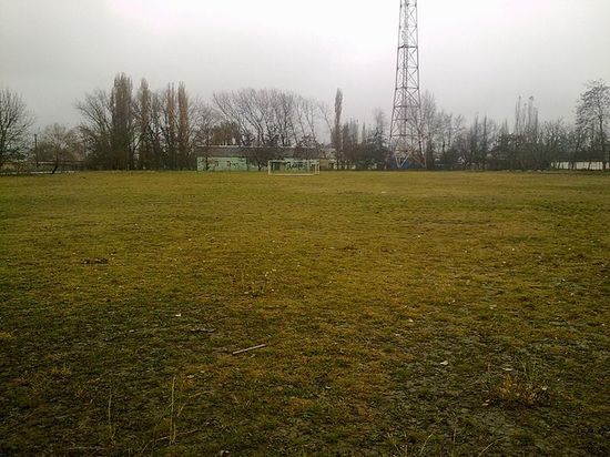 Футбольный стадион. 2011 г.