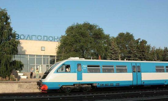 Железнодорожный вокзал в Волгодонске