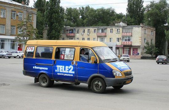 Маршрутное такси в Волгодонске