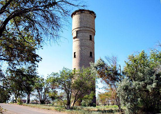 Приозёрск. Водонапорная башня