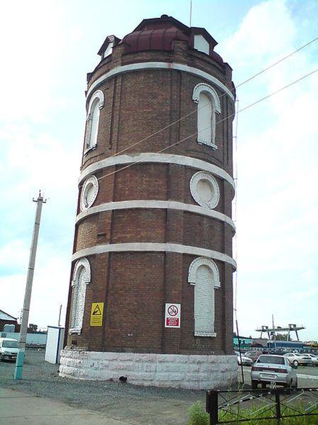 Рубцовск старинная водонапорная башня