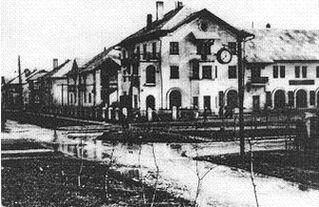 Первые жилые дома Волгодонска. 1950-е годы.