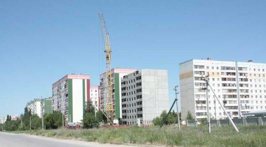 Новые дома и микрорайоны