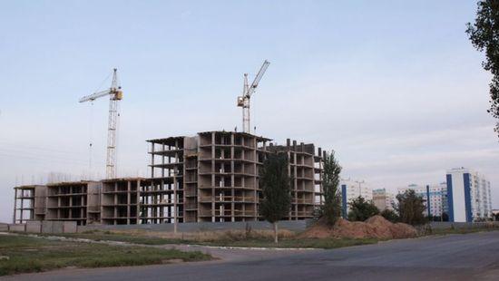 Строится новый жилой микрорайон В-17
