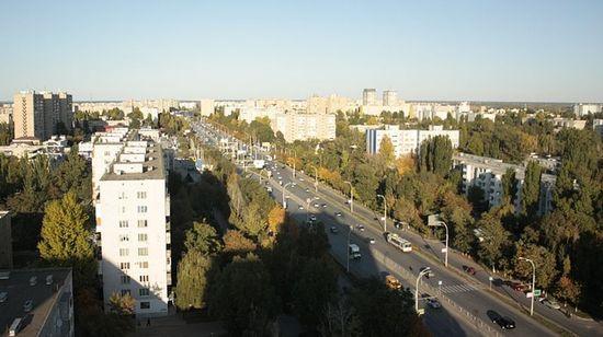 Новый город. Проспект Строителей