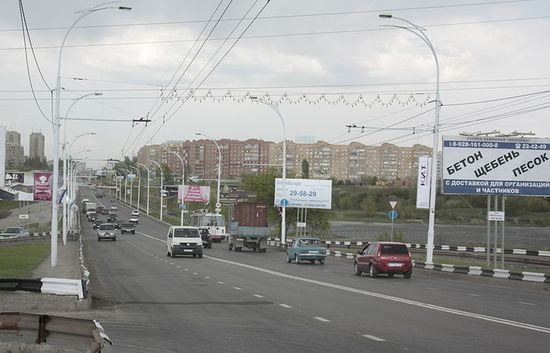Автомобильный мост через Сухо-Соленовский залив Цимлянского водохранилища, соединяющий новую и старую части Волгодонска